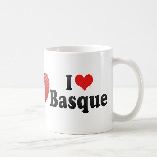J'aime le basque tasse à café