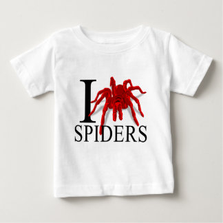 J'aime le bébé d'araignées t-shirts