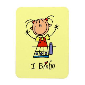 J'aime le bingo-test magnets souples
