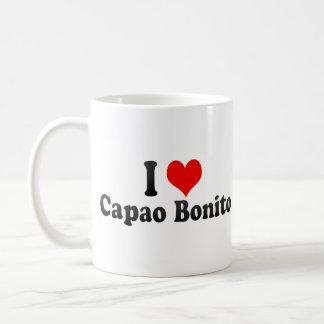 J'aime le bonito de Capao, Brésil Mug Blanc