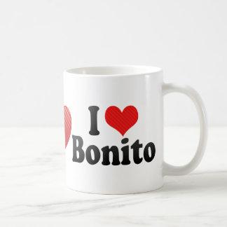 J'aime le bonito tasse à café