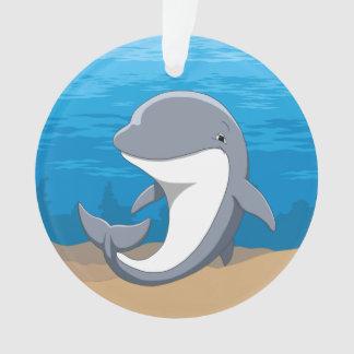 J'aime le Bottlenose mignon de dauphins