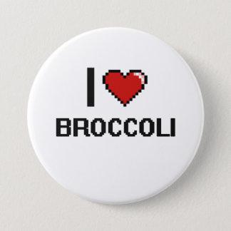 J'aime le brocoli badges