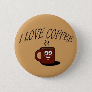 J'aime le café badge