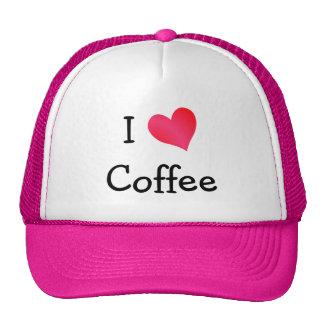 J'aime le café casquette de camionneur