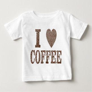 J'aime le café t-shirt pour bébé