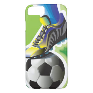 J'aime le cas de l'iPhone 7 du football Coque iPhone 7