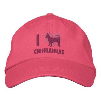 J'aime le casquette brodé par chiwawas (le rose)