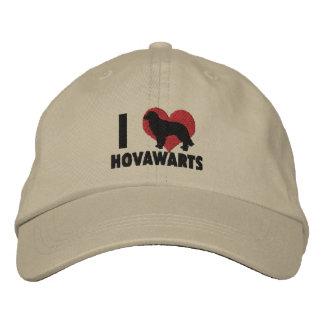 J'aime le casquette brodé par Hovawarts