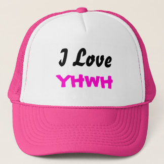 J'aime le casquette de dames de YHWH
