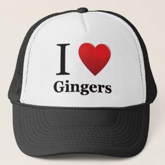 J'aime le casquette de gingembres