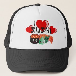 J'aime le casquette de sushi