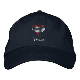 J'aime le casquette de Wien - casquette autrichien Casquette Brodée