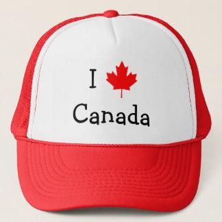 J'aime le casquette du Canada