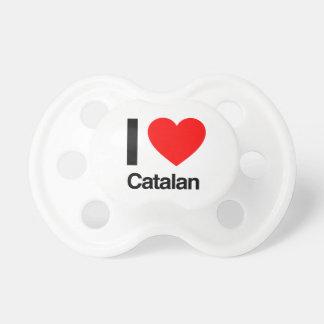 j'aime le catalan tétine pour bébé