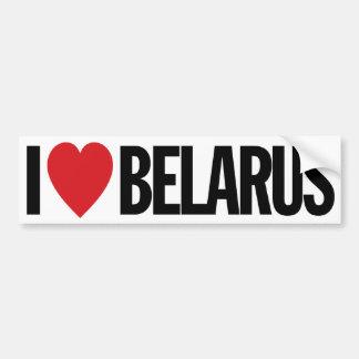 """J'aime le coeur Belarus décalque de vinyle de 11"""" Autocollant De Voiture"""