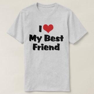 J'aime le coeur mon meilleur ami - BFF T-shirt