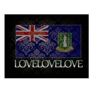 J'aime le cool des Îles Vierges britanniques Carte Postale