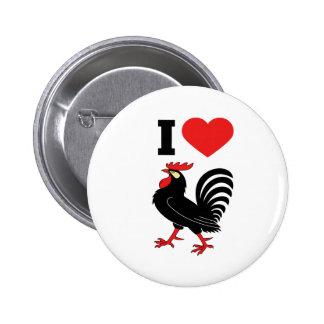 J'aime le coq badges