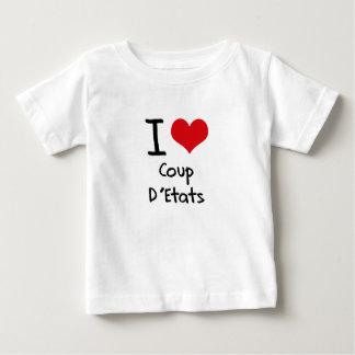 J'aime le coup D'Etats T-shirt Pour Bébé