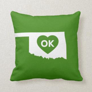 J'aime le coussin d'état de l'Oklahoma