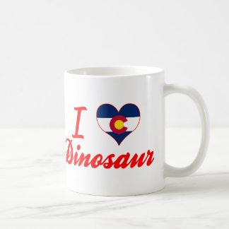 J'aime le dinosaure, le Colorado Tasse À Café