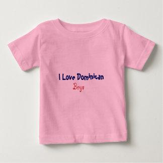 J'aime le Dominicain, garçons T-shirt