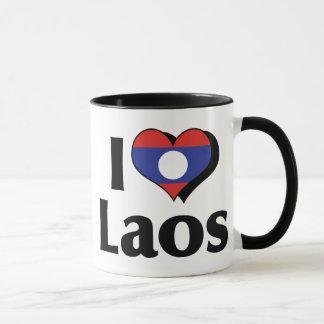 J'aime le drapeau des Laotiens Mug