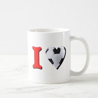 J'Aime le Foot Mugs À Café