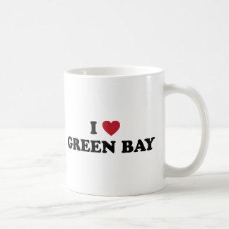 J'aime le Green Bay le Wisconsin Mug