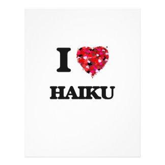 J'aime le Haiku Prospectus 21,6 Cm X 24,94 Cm