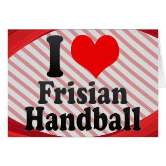 J'aime le handball de Frisian Cartes