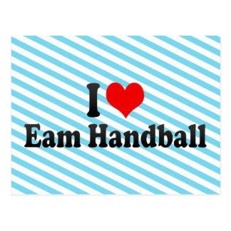 J'aime le handball d'Eam Carte Postale