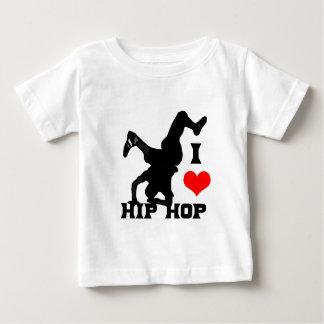 J'aime le hip hop t-shirt pour bébé