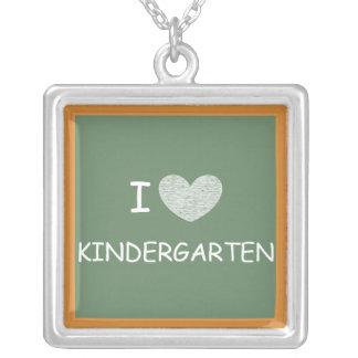 J'aime le jardin d'enfants bijouterie personnalisée