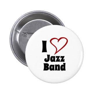 J'aime le jazz-band pin's