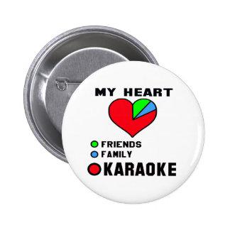 J'aime le karaoke badges
