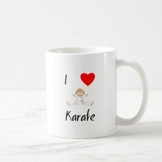 J'aime le karaté mug