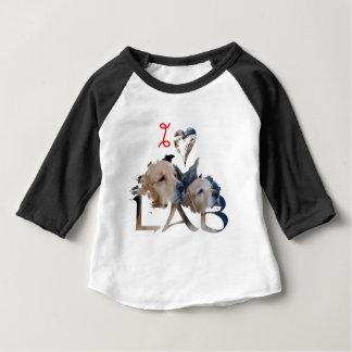 J'aime le laboratoire t-shirt pour bébé
