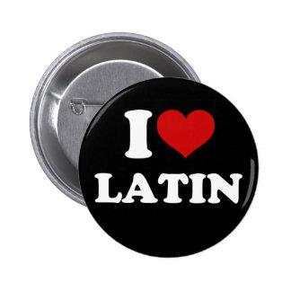 J'aime le latin badge