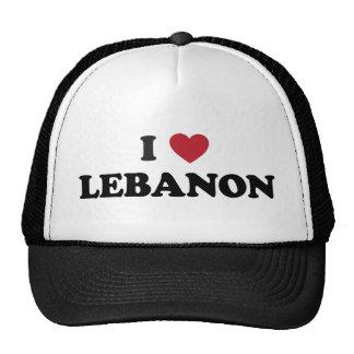 J'aime le Liban Casquette
