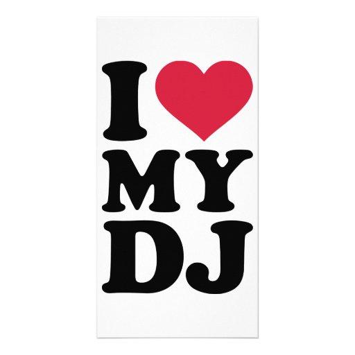 J'aime le mon DJ Photocarte Personnalisée