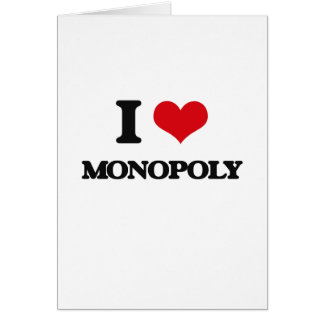 J'aime le monopole cartes