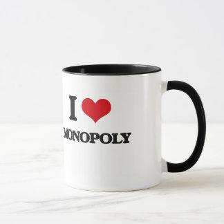 J'aime le monopole mug
