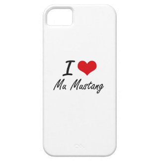 J'aime le mustang de la MU Coque Barely There iPhone 5
