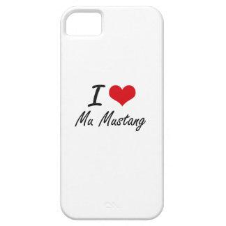 J'aime le mustang de la MU Coque Barely There iPhone 5