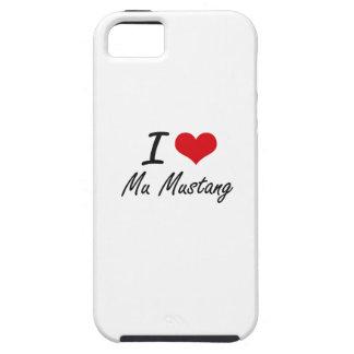J'aime le mustang de la MU Coque iPhone 5 Case-Mate