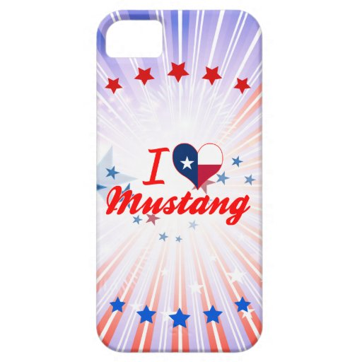 J'aime le mustang, le Texas Coques iPhone 5