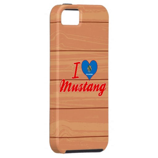 J'aime le mustang, l'Oklahoma Étui iPhone 5