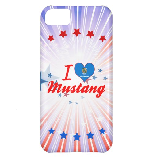 J'aime le mustang, l'Oklahoma Coques iPhone 5C